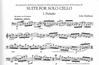 HAL LEONARD Harbison, John: Solo Suite (cello)