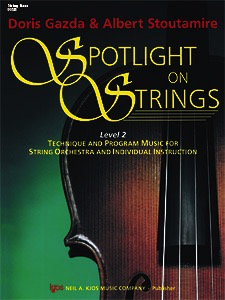 Gazda: Spotlight on Strings, Book 2 (Bass)