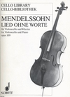 Mendelssohn, F.: Song Without Words (cello & piano)