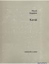 Barenreiter Kopelent, Marek: Karrak op. 9 (cello and piano) Barenreiter