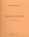 Milhaud, Darius: Sonatine for Viola & Cello