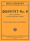 "International Music Company Boccherini, Luigi: Quintet No.6 Op.57 ""The Military Night Watch in Madrid"""