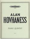 C.F. Peters Hovhaness, A.: Piano Quintet Op. 9 (2 violins, viola, cello, piano)