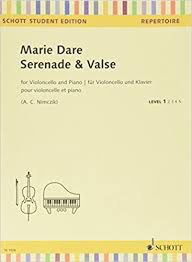 HAL LEONARD Dare, M. (Nimczik): Serenade & Valse (cello and piano) Schott