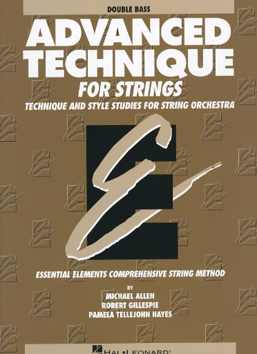 HAL LEONARD Allen, M., Gillespie, R., & Hayes, P.T.: Advanced Technique (bass)