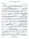 HAL LEONARD Mozart, W.A.: Clarinet Quintet in A K.581 (clarinet, 2 violins, Viola, Cello)