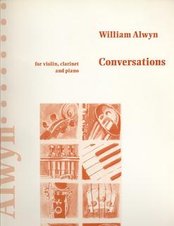 HAL LEONARD Alwyn, W.: Conversations (violin, clarinet & piano)