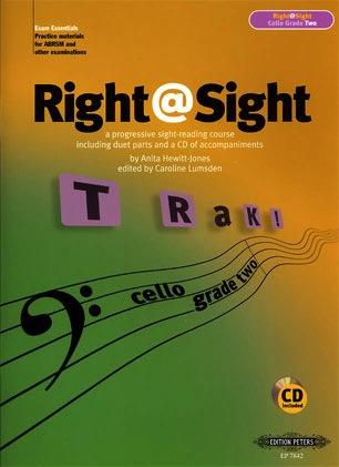 Hewitt-Jones, Anita: Right @ Sight-Cello Grade 2 (cello & CD)