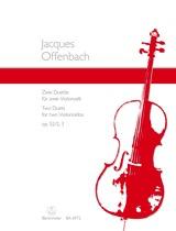 Barenreiter Offenbach, J.: Two Duets Op.52, No. 2-3 (2 cellos)