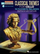 HAL LEONARD Classical Themes for Cello-10 Favorite Melodies (audio access to playalong track included)