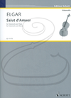 HAL LEONARD Elgar: Salut d'Amour No.3, Op.12 (cello & piano) Schott