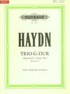 "C.F. Peters Haydn, F.J.: Piano Trio in G Major, Hob.XV: 25 - ""Gypsy Trio"" - Urtext (violin, cello, and piano) PETERS"