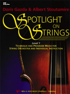 Gazda: Spotlight on Strings, Book 1 (Bass)