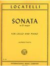 International Music Company Locatelli, Pietro: Cello Sonata (cello & piano)