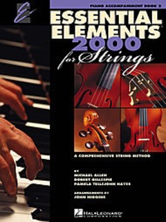 HAL LEONARD Allen, Gillespie, & Hayes: Essential Elements 2000, Bk.2 (piano accompaniment)