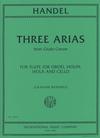 International Music Company Handel, G.F. (Bastable, G. arr.): Three Arias from Giulio Cesare (flute or oboe, violin, viola, and cello)