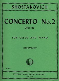 International Music Company Shostakovich, Dmitri: Cello Concerto No.2 Op.126 (cello & piano) IMC