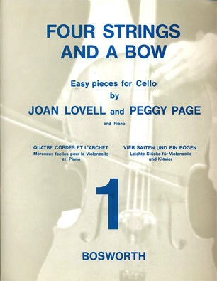 Bosworth Lovell, Joan & Peggy Page: Four Strings and a Bow Bk.1 (cello & piano)