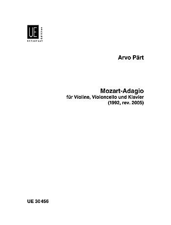 Carl Fischer Part, A.: Mozart-Adagio (violin, cello, and piano)