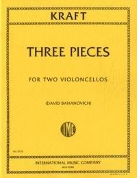 International Music Company Kraft, Anton: Three Pieces (2 cellos)