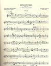 International Music Company Dvorak, Antonin: Miniature and Gavota (violin, Viola & cello)