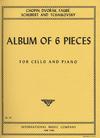 International Music Company International Music Album of Six Pieces (cello & piano)