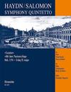 Barenreiter Haydn, F.J. (Hogwood): Surprise Symphony (flute, 2 violins, cello, piano) Barenreiter