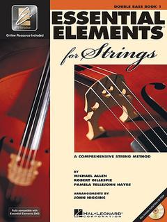 HAL LEONARD Allen, Gillespie, & Hayes: Essential Elements Interactive, Bk.1 (bass, online resources included)