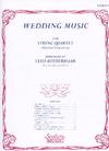 HAL LEONARD Aufderhaar: (collection) Wedding Music - ARRANGED (string quartet w/ bass ad lib.) Southern Music Company