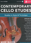 HAL LEONARD Block: (collection) Contemporary Cello Etudes (cello)(audio access) Berklee Press