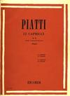 HAL LEONARD Piatti: 12 Caprices Op. 25 (cello) Ricordi