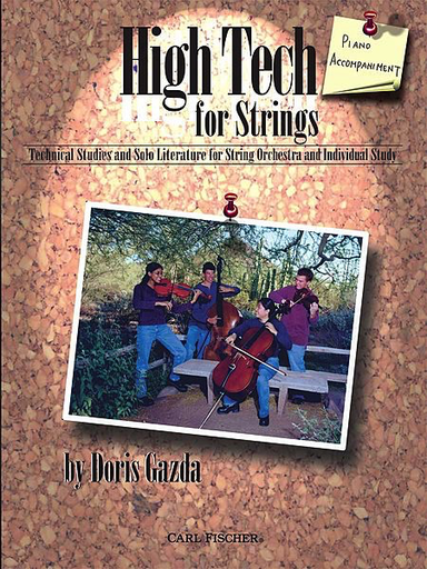 Carl Fischer Gazda, Doris: High Tech for Strings (Piano Accompaniment)