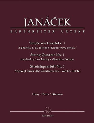 Barenreiter Janacek, Leos: String Quartet No. 1 (Tolstoy's Kreutzer Sonata) Barenreiter