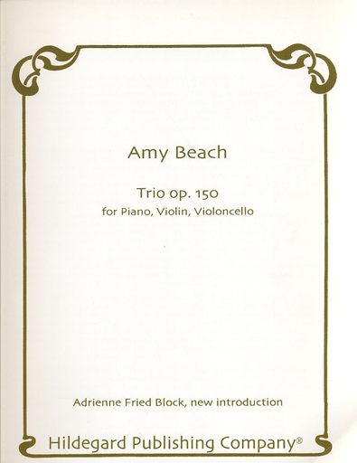 Carl Fischer Beach, Amy: Trio Op.150 (violin, piano, cello)
