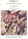 LudwigMasters Dvorak, Antonin: String Quartet No. 13 Op.106 G