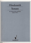 Hindemith, Paul: Sonata Op.11No. 3 (cello & piano)
