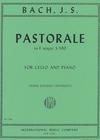 International Music Company Bach (Rosanoff): Pastorale in F Major, S.590 (cello & piano) IMC