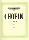 Chopin, F.: Piano Trio in G Minor Op.8 (violin, cello, piano)