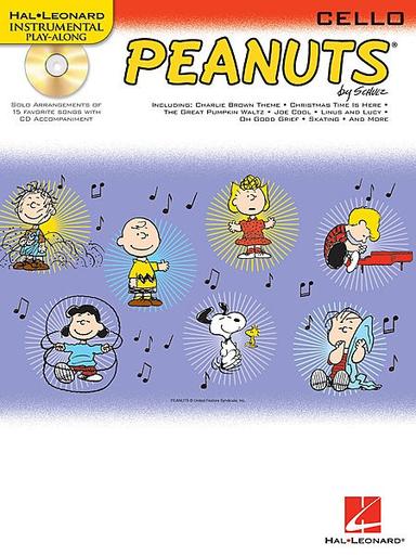 HAL LEONARD Guaraldi, Vince: Peanuts (cello & cd)