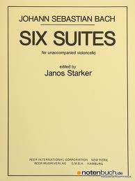 HAL LEONARD Bach, J.S. (Starker): 6 Suites for Unaccompanied Violoncello