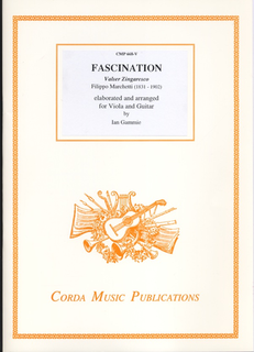 Marchetti, Filippo (Gammie): Fascination (viola or violin & guitar or piano)