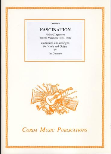 Marchetti, Filippo (Gammie): Fascination (viola or violin & guitar or piano)