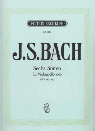 Bach, J.S. (Klengel): 6 Solo Suites (cello)