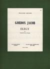Galaxy Music Jacob, Gordon: Elegy (cello & piano)
