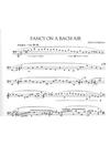 HAL LEONARD Corigliano: Fancy on A Bach Air (cello solo) Schirmer