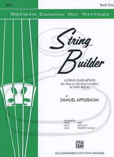 Alfred Music Applebaum: String Builder, Bk.1 (bass) Belwin