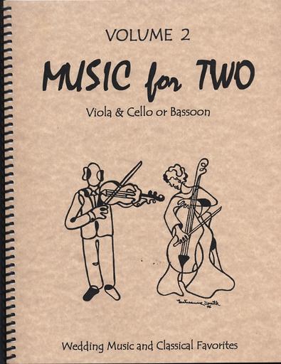 Last Resort Music Publishing Kelley, Daniel: Music for Two Vol.2 (viola & cello)