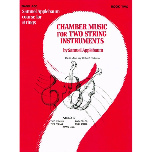 Alfred Music Applebaum, S.: Chamber Music for Two String Instruments V.2 (piano accompaniment)