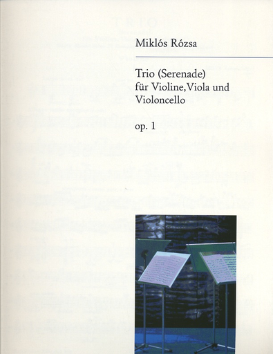 Rozsa, Miklos: String Trio Op.1-Serenade (violin, viola, cello)