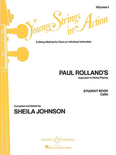HAL LEONARD Rolland, P. (Johnson, S.): Young Strings in Action, Vol.1 (cello)